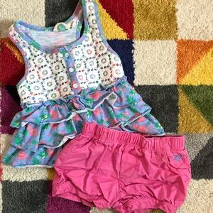 Roxy Girl's 18 Month two piece outfit
